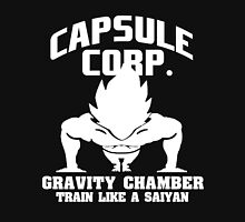 Capsule Corps - Gravitiy Chamber Vegeta Saiyan  T-Shirt