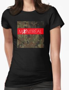 MONTREAL Womens Fitted T-Shirt