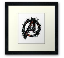 Avengers Age of Ultron Framed Print