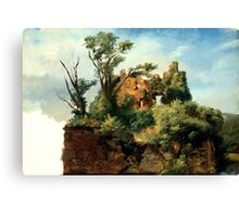 Pierre-Henri de Valenciennes - Landscape with Ruins Canvas Print