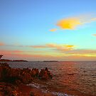 Sundown At Point Peron by Algo21