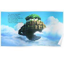 Laputa Castle in the Sky Poster
