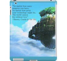 Laputa Castle in the Sky iPad Case/Skin