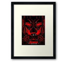 Suit of armour around the world Framed Print