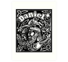 Daniel cover Art Print
