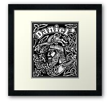 Daniel cover Framed Print