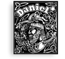 Daniel cover Canvas Print