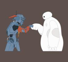 Baymax and Chappie Kids Clothes