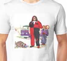 Hurley Quinn Lost/Batman Mashup Unisex T-Shirt