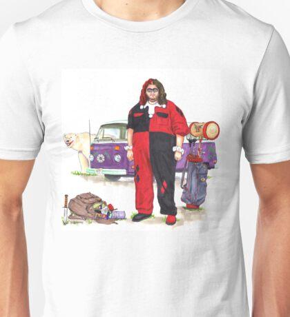 Hurley Quinn Lost/Batman Mashup T-Shirt
