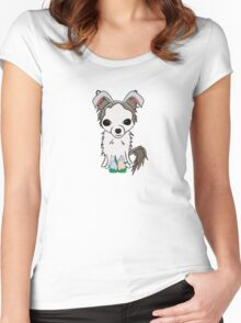 Rue Bunny Women's Fitted Scoop T-Shirt