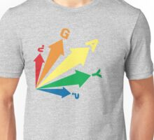 all signs point to... GAY? Unisex T-Shirt