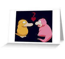 Stupid Love  Greeting Card