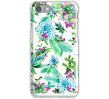 succulent spring iPhone Case/Skin