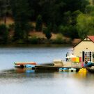 Boathouse by Leanne Nelson