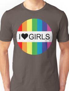 i heart girls Unisex T-Shirt