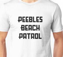 Peebles Beach Patrol Unisex T-Shirt