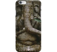 An elephant never forgets. iPhone Case/Skin