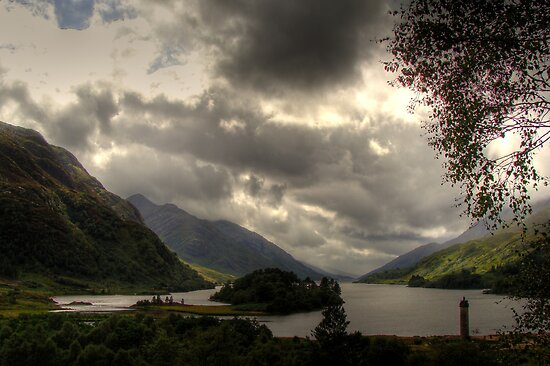 Glenfinnan, Scotland by Gaurav Dhup
