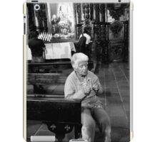 Praying iPad Case/Skin
