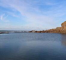 Sea View In Cornwall by rumisw
