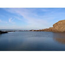 Sea View In Cornwall Photographic Print