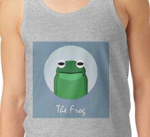 The Frog Cute Portrait Tank Top