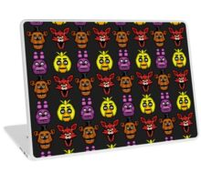 Five Nights at Freddy's 1 - Pixel art - The Classic 4 Laptop Skin