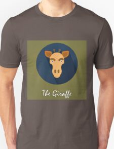The Giraffe Cute Portrait Unisex T-Shirt