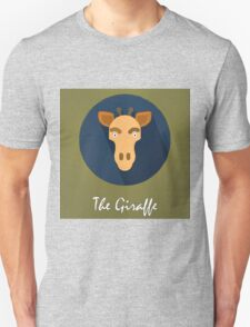 The Giraffe Cute Portrait T-Shirt