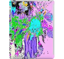Spring Floral Abstract iPad Case/Skin