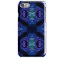 Blue Tapestry (landscape orientation) iPhone Case/Skin