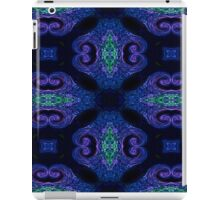 Blue Tapestry (landscape orientation) iPad Case/Skin
