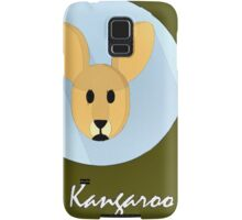 The Kangaroo Cute Portrait Samsung Galaxy Case/Skin