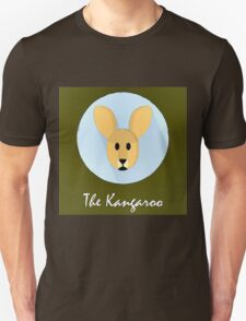 The Kangaroo Cute Portrait T-Shirt