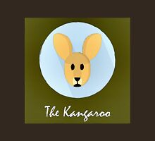 The Kangaroo Cute Portrait Unisex T-Shirt
