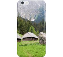Tatra Mountains in Poland iPhone Case/Skin