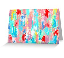 FIREWORKS OF SUMMER Greeting Card