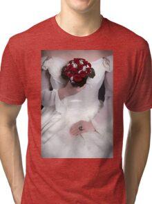 red roses Tri-blend T-Shirt