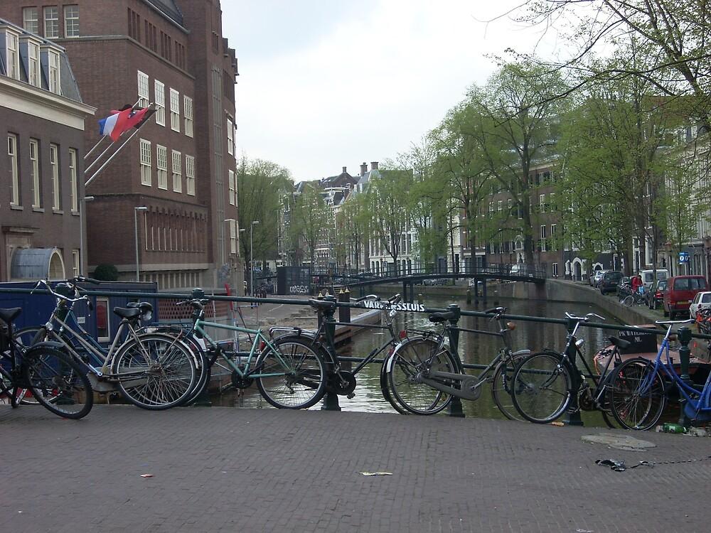 amsterdam's bridges by korniliak
