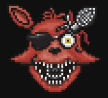 Five Nights at Freddy's 2 - Pixel art - Foxy Baby Tee