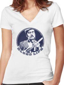 Roy Buchanan Women's Fitted V-Neck T-Shirt