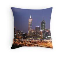 Perth Western Australia Throw Pillow