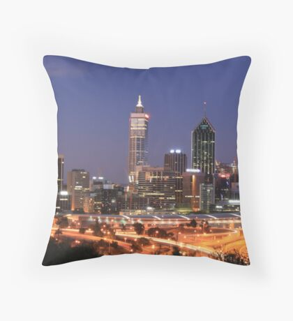 Perth Western Australia Throw Pillow