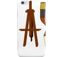 Artist Paint Brushes and Easel iPhone Case/Skin