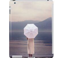 white parasol iPad Case/Skin