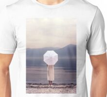 white parasol Unisex T-Shirt