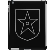 A Complete Guide to Heraldry - Figure 547 — Mullet pierced (Scottish spur-revel) iPad Case/Skin