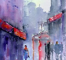 City Side Street by Paulusart