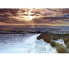 Daybreak over Skipton Photographic Print